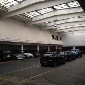 Parking zona piscina